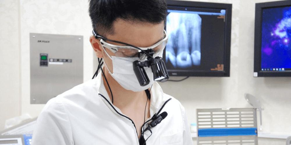 オーラルプロポーションクリニックに入社したきっかけを話す萩尾歯科医師